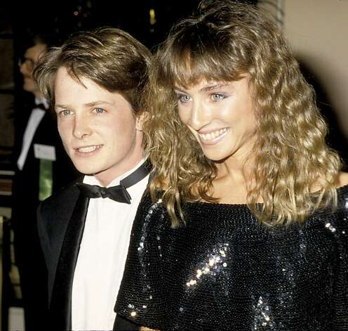 Michael J. Fox and Tracy Pollan (Photo by Ron Galella/WireImage) Photo: Ron Galella