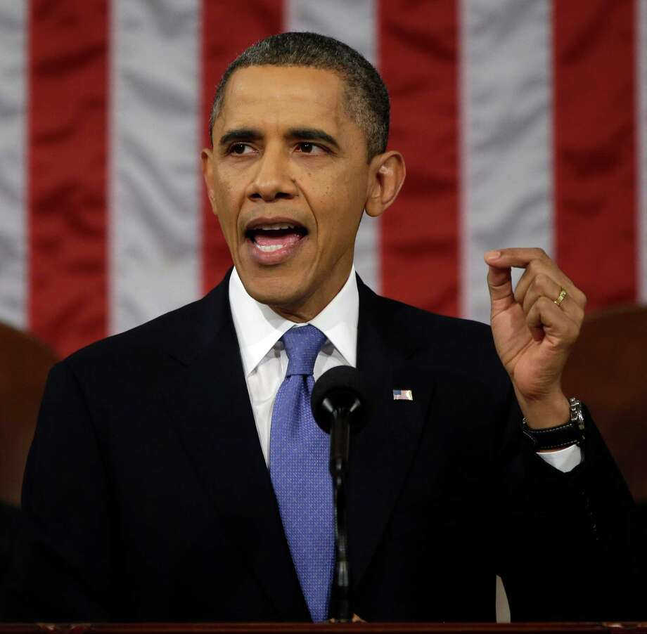 In his State of the Union speech, President Barack Obama  focused on initiatives to stimulate the U.S. economy and called for an increase in the minimum wage. Photo: File Photo, Getty Images / 2013 Getty Images