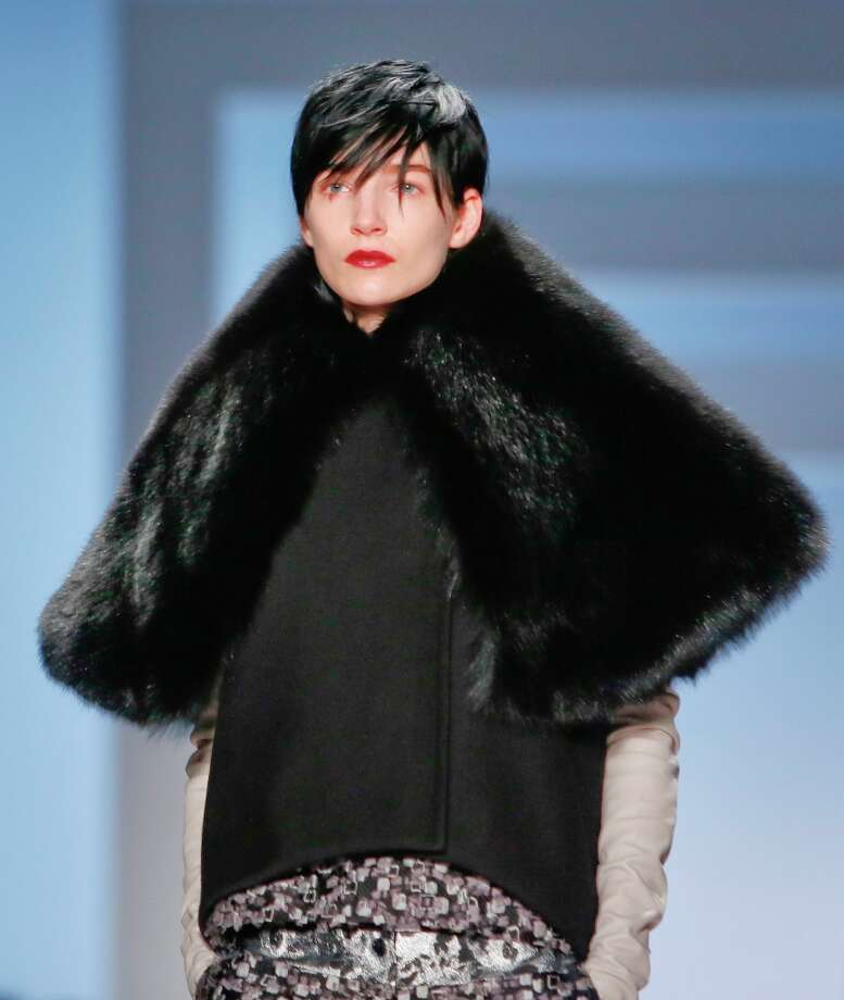 Fashion from the Vera Wang Fall 2013 collection is modeled on Tuesday, Feb. 12, 2013 in New York. Photo: Bebeto Matthews