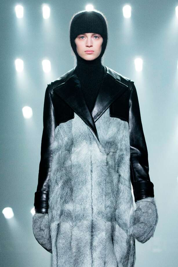 A model walks the runway during the Alexander Wang Fall 2013 fashion show during Fashion Week, Saturday, Feb. 9, 2013, in New York. Photo: John Minchillo