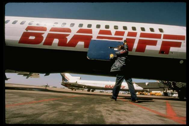Braniff International Airways was an iconic U.S. airline for more than half a century. Competition following deregulation, along with high fuel prices, drove up its debt to unsustainable levels, and the airline declared bankruptcy in 1982. Photo: Phil Huber, Time & Life Pictures/Getty Image / Phil Huber