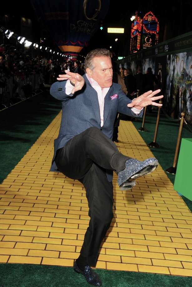 Actor Bruce Campbell attends the world premiere of Walt Disney Pictures' Oz The Great And Powerful at the El Capitan Theatre on February 13, 2013 in Hollywood, California. Photo: Kevin Winter, Getty Images / 2013 Getty Images