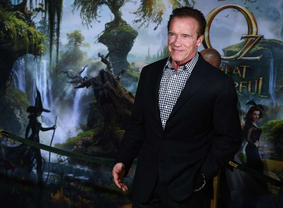 Actor Arnold Schwarzenegger attends the premiere Of Walt Disney Pictures' Oz The Great And Powerful at the El Capitan Theatre on February 13, 2013 in Hollywood, California. Photo: Jason Kempin, Getty Images / 2013 Getty Images