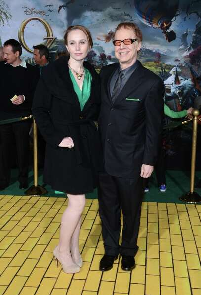 Composer Danny Elfman (R) and Mali Elfman arrive for the world premiere of Walt Disney Pictures' Oz