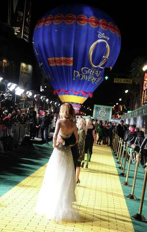 A general view of atmosphere at the world premiere of Walt Disney Pictures' Oz The Great And Powerful at the El Capitan Theatre on February 13, 2013 in Hollywood, California. Photo: Kevin Winter, Getty Images / 2013 Getty Images
