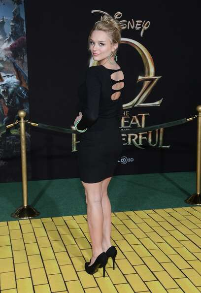 Actress Haley King attends the Premiere Of Walt Disney Pictures' Oz The Great And Powerful at the El