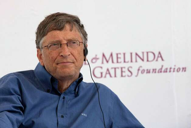 Bill Gates: The billionaire has been known to cruise around in a Porsche 959.