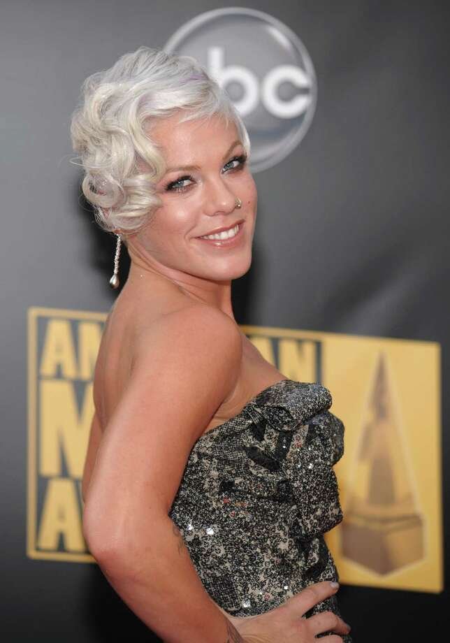 Pink: Pink has been famously tied to a lime green 1959 Chevy Impala.Source: Yahoo Photo: Evan Agostini, AP / R-AGOSTINI