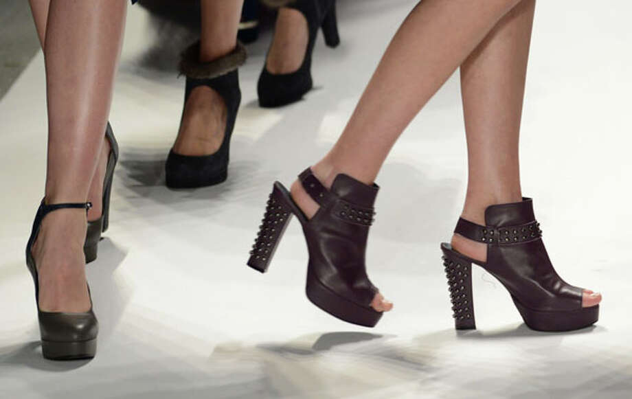 Studded platforms Photo: STAN HONDA, AFP/Getty Images / AFP