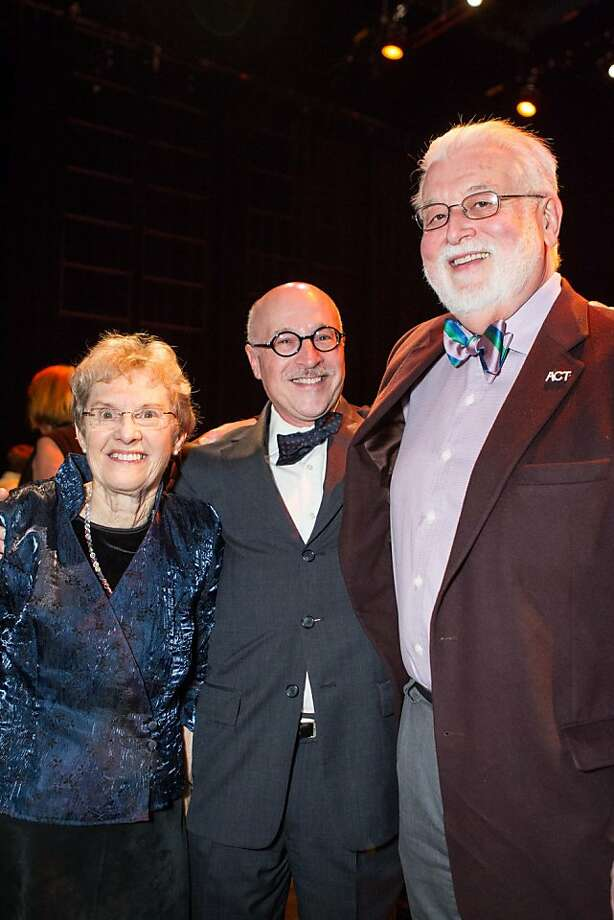 Judy Anderson, Michael Paller and Alan Jones. Photo: Drew Altizer Photography