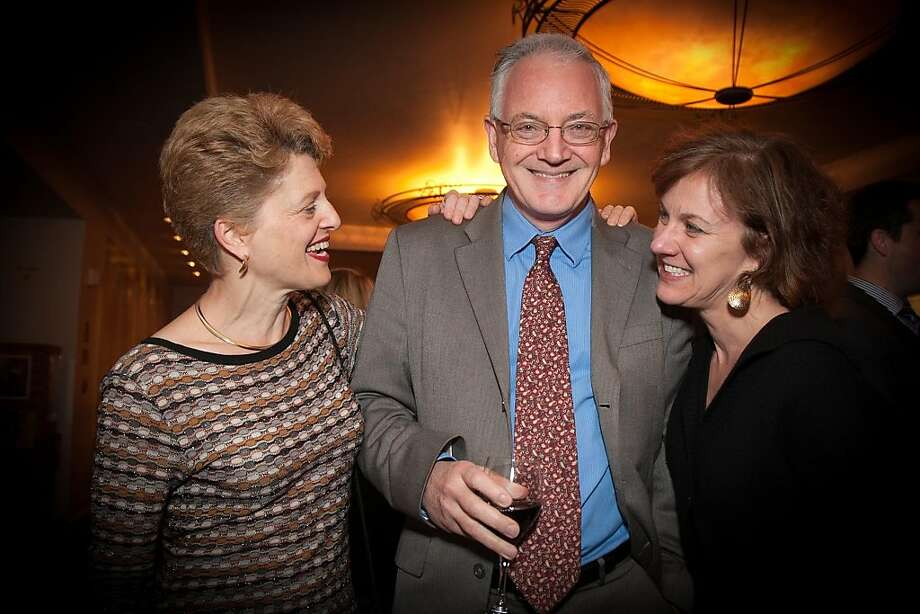 Carey Perloff, Anthony Giles and Lee Gregory. Photo: Drew Altizer Photography