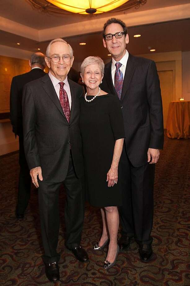 Nancy Livingston, Alan Stein and Fred Levin. Photo: Drew Altizer Photography