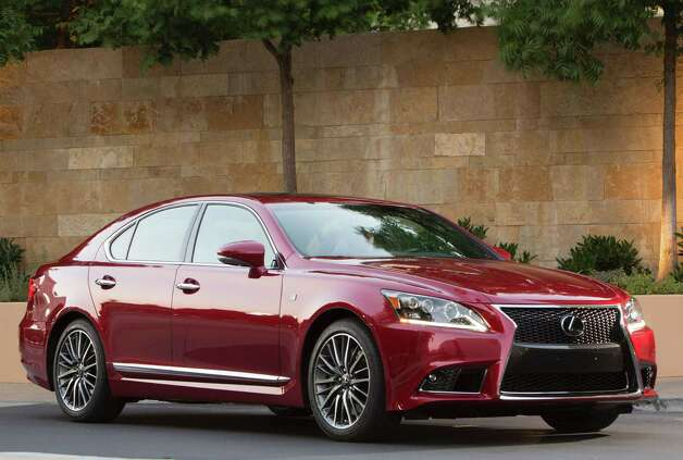 For 2013, Lexus is adding a sport model to its LS lineup, the F Sport. The F Sport features an aggressive exterior and sport-tuned suspension. Priced at $81,990, it sits in the middle of the LS lineup. Photo: Toyota Motor Sales USA