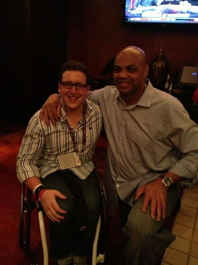 With Charles Barkley !! #ASG #NBAAllStar #houston #OMG