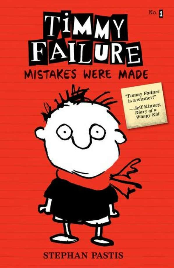 """Timmy Failure: Mistakes Were Made"" by Stephan Pastis, Pearls Before Swine Cartoonist Photo: --"