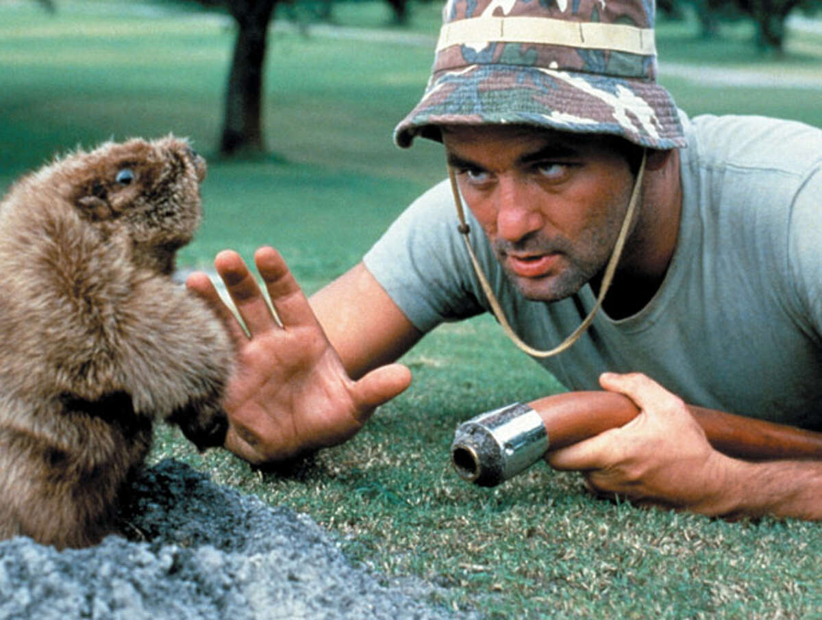 """""""Caddyshack"""" (1980) Little Man rating: Empty Chair It went on to become a perennial contender for best comedy ever. But perhaps we shouldn't be surprised that a movie with a scene devoted to swimmers mistaking a chocolate bar for poop would not be a critic's darling. That said, the Chronicle's Judy Stone really, really didn't like """"Caddyshack."""" The review leads with, """"'Caddyshack' is a case of goofballs v. golf balls with a gopher caught in the crossfire. They're all losers."""" As the Chronicle's Peter Hartlaub pointed out in a retrospective of the review, """"1980 was a more mature period ... The short attention span theater of 'Caddyshack' was too much to take. By the time the dancing gopher first appeared in the opening credits, the film's chances of a good review were probably over."""""""