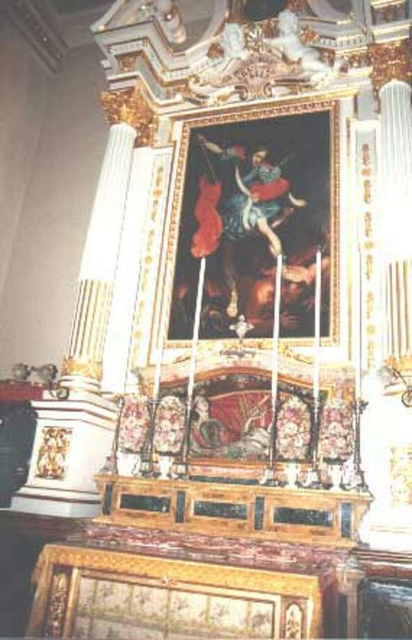 At the Balzan Parish Church in Malta, there's an urn that contains the Holy Corpse of the Martyr Saint Valentine, according to church officials. The remains arrived in 1784 and have been at the parish church since 1820. Since then,  Valentine has been the second Patron Saint of Balzan -- and a popular name for children.