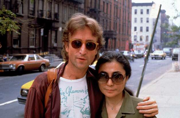 Rock star John Lennon (L) & his second wife Yoko Ono Photo: DAVID MCGOUGH, TIME & LIFE PICTURES/GETTY I / Time Life Pictures