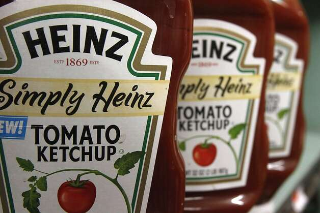 Heinz ketchup is one of the top sellers of H.J. Heinz Co. which received a boost to transform into a global business from its acquisition by a major investor. Photo: Toby Talbot, Associated Press