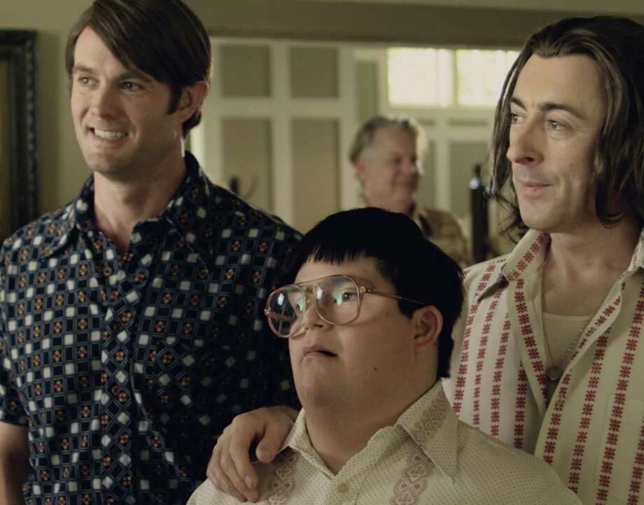 "A teen with Down syndrome, whose mother has bandoned him, is at the heart of ""Any Day Now,"" about a gay couple that wants to adopt him. The award-winning film will be presented at The Palace Danbury on Saturday, Feb. 16, followed by a discussion on gay adoption. Photo: Contributed Photo"