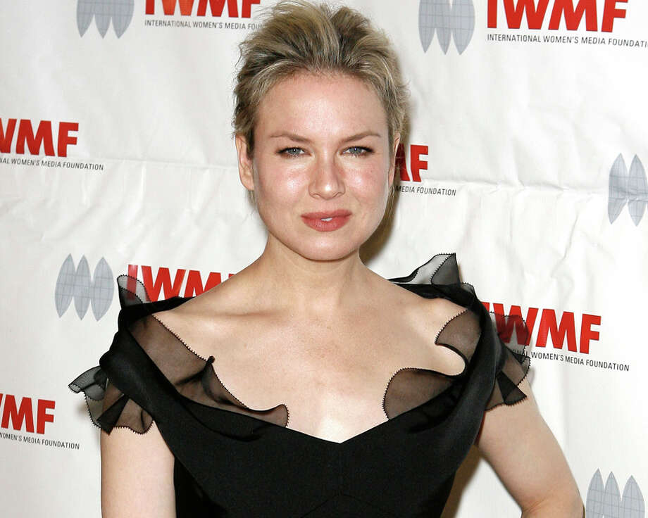 "Renee Zellweger – Rene Zellweger worked at a cabaret club in Austin ""not as a stripper, but as a waitress."" Photo: Gus Ruelas, AP / FR157633 AP"