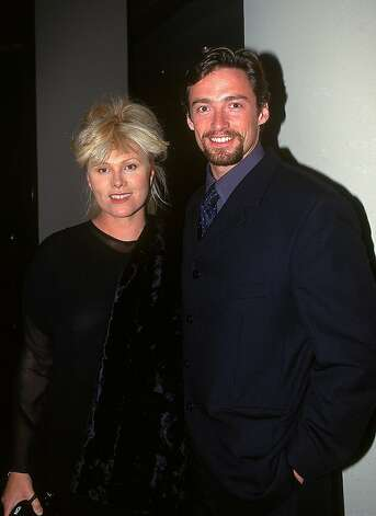 SYDNEY, AUSTRALIA - JULY 18:  Actor Hugh Jackman (R) and his wife Deborra-Lee Furness attend the Variety Club Heart Awards July 18, 1997 in Sydney, Australia. (Photo by Patrick Riviere/Getty Images) Photo: Patrick Riviere