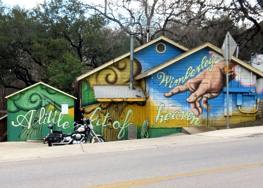 Wimberley offers a great place to use as a home base when exploring all that the Hill Country has to offer — be it funky or romantic. Photo: Douglas Pils / San Antonio Express-News
