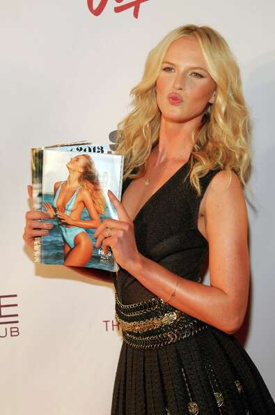 Sports Illustrated swimsuit model Anne V attends SI Swimsuit on Location at the Marquee Nightclub at