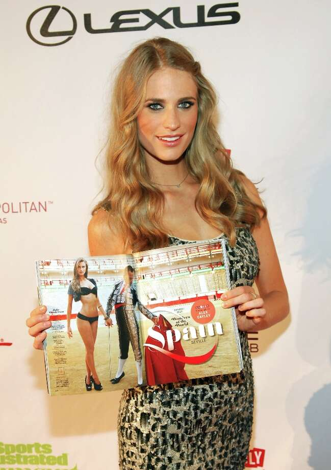 Sports Illustrated swimsuit model Julie Henderson attends SI Swimsuit on Location at the Marquee Nightclub at The Cosmopolitan of Las Vegas on February 13, 2013 in Las Vegas, Nevada. Photo: Bryan Steffy, Getty Images / 2013 Getty Images