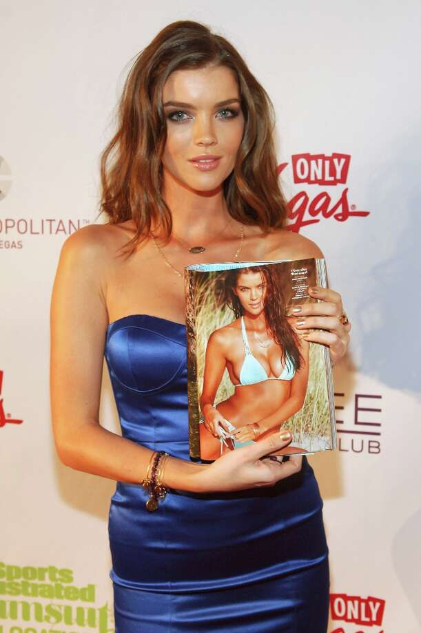Sports Illustrated swimsuit model Natasha Barnard attends SI Swimsuit on Location at the Marquee Nightclub at The Cosmopolitan of Las Vegas on February 13, 2013 in Las Vegas, Nevada. Photo: Bryan Steffy, Getty Images / 2013 Getty Images