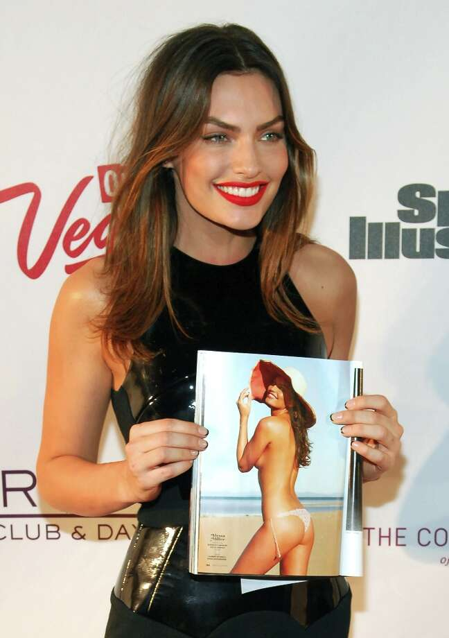 Sports Illustrated swimsuit model Alyssa Miller attends SI Swimsuit on Location at the Marquee Nightclub at The Cosmopolitan of Las Vegas on February 13, 2013 in Las Vegas, Nevada. Photo: Bryan Steffy, Getty Images / 2013 Getty Images