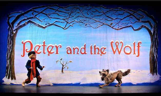 The National Marionette Theatre's production of ''Peter and the Wolf'' will be part of February Vacation Daze at Steamer No. 10 Theatre. (National Marionette Theatre)