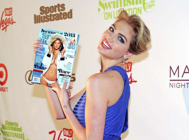 Sports Illustrated swimsuit model Kate Upton attends SI Swimsuit on Location at the Marquee Nightclub at The Cosmopolitan of Las Vegas on February 13, 2013 in Las Vegas, Nevada. Photo: Bryan Steffy, Getty Images / 2013 Getty Images