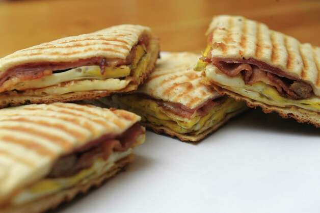 Ham, Cheese And Fried Egg Panini Recipes — Dishmaps