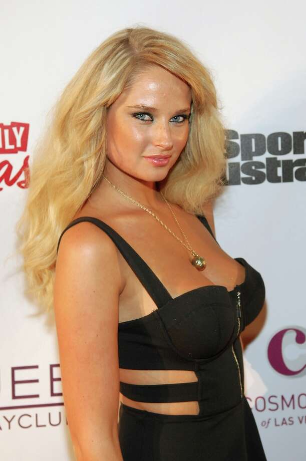 Sports Illustrated swimsuit model Genevieve Morton attends SI Swimsuit on Location at the Marquee Nightclub at The Cosmopolitan of Las Vegas on February 13, 2013 in Las Vegas, Nevada. Photo: Bryan Steffy, Getty Images / 2013 Getty Images