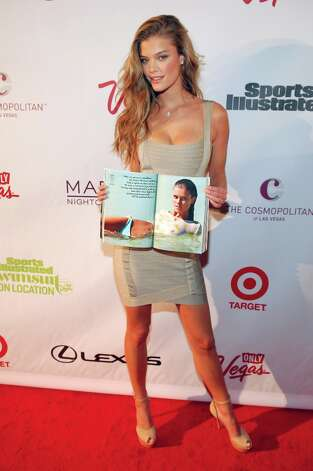 Sports Illustrated swimsuit model Nina Agdal attends SI Swimsuit on Location at the Marquee Nightclub at The Cosmopolitan of Las Vegas on February 13, 2013 in Las Vegas, Nevada. Photo: Bryan Steffy, Getty Images / 2013 Getty Images