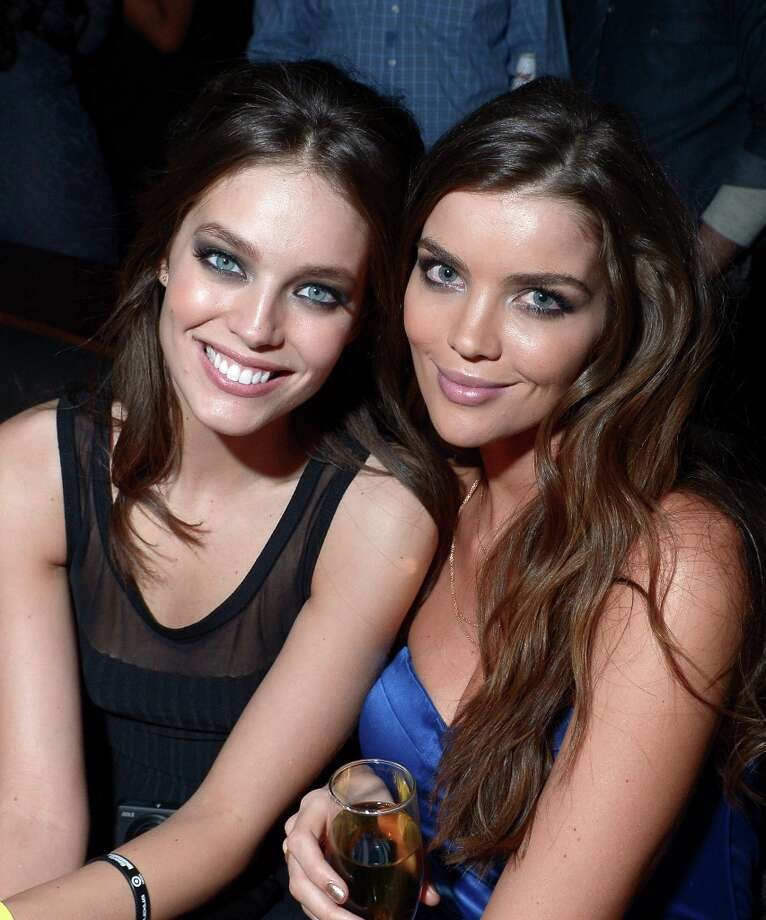 (L-R) Sports Illustrated swimsuit models Emily DiDonato (L) and Natasha Barnard attend SI Swimsuit on Location at the Marquee Nightclub at The Cosmopolitan of Las Vegas on February 13, 2013 in Las Vegas, Nevada.  (Photo by Michael Loccisano/Getty Images for Sports Illustrated) Photo: Michael Loccisano, (Credit Too Long, See Caption) / 2013 Getty Images