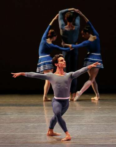 Joaquin De Luz in Year of the Rabbit  World Premiere New York City Ballet   Choreography by Justin Peck Credit Photo: Paul Kolnik Photo: Paul Kolnik / © 2012 Paul Kolnik