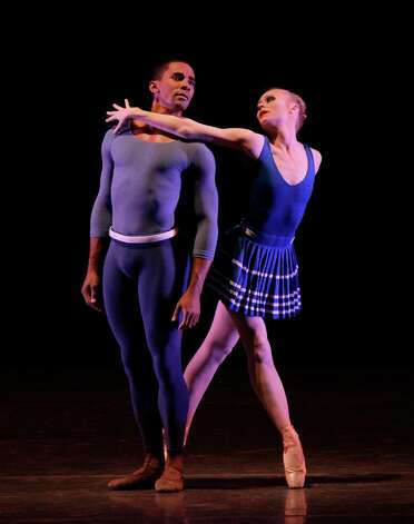 Janie Taylor and Craig Hall in Year of the Rabbit  World Premiere New York City Ballet   Choreography by Justin Peck Credit Photo: Paul Kolnik Photo: Paul Kolnik / © 2012 Paul Kolnik