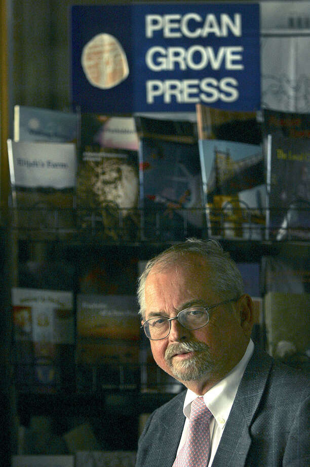 H. Palmer Hall was editor of Pecan Grove Press, where he promoted new talent. He considered the press a service to the community. Photo: Express-News File Photo