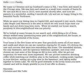 Dear seller\' letters work for home buyers - seattlepi.com
