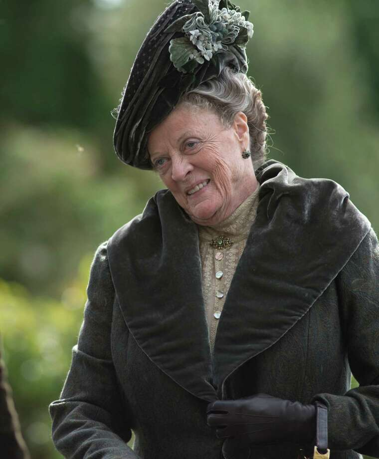 "Dame Maggie Smith as the Dowager Countess on ""Downton Abbey"" Photo: Nick Wall"