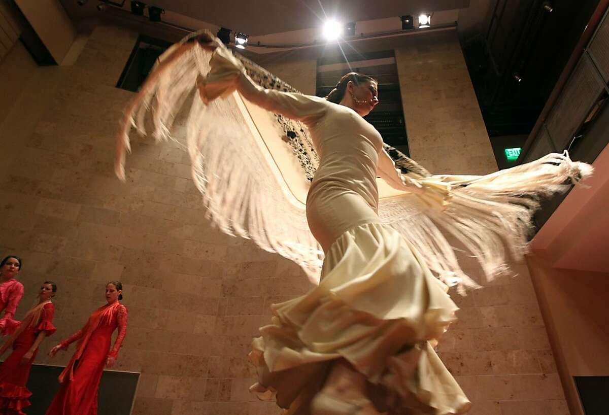 Flamenco dancer and choreographer La Tania performs in Osvaldo Golijov's Opera Ainadamar,