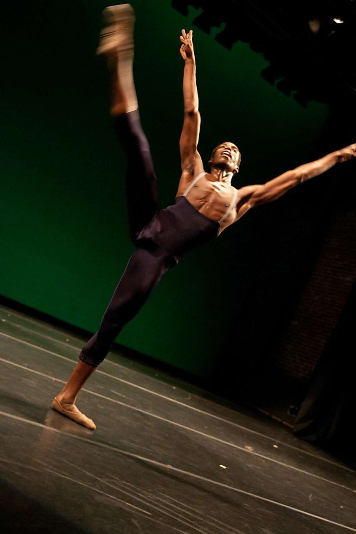 APTION: Jeffrey Van Sciver dances in Gregory P. Dawson