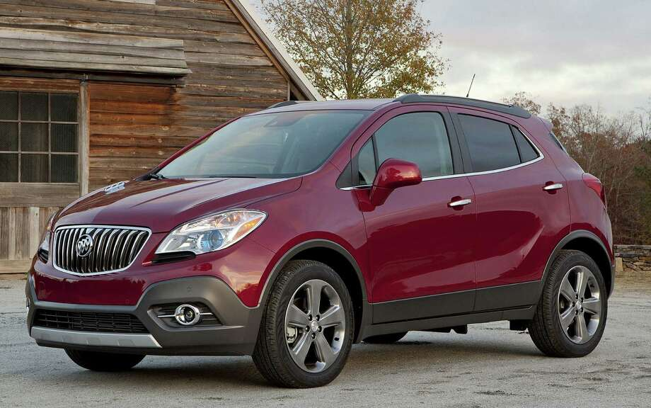 All new for 2013, the Encore is the smallest vehicle in the Buick line, made on the same chassis as the subcompact Chevrolet Sonic hatchback. It offers sporty handling for a utility vehicle, a turbocharged engine, decent fuel economy and plenty of utility. Photo: General Motors Co.