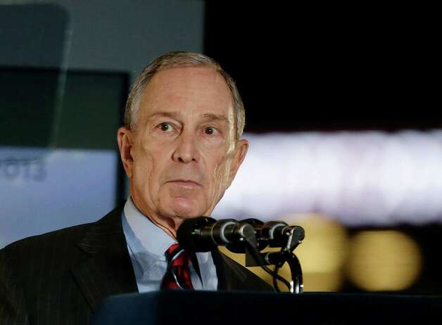 New York City Mayor Michael Bloomberg speaks during the State of the City address Thursday, Feb. 14, 2013, at the Barclays Center, Brooklyn's new arena, in New York.  His 12 years in office may be winding down, but Bloomberg says he has plenty of unfinished business he wants to get done.  (AP Photo/Frank Franklin II) Photo: Frank Franklin II
