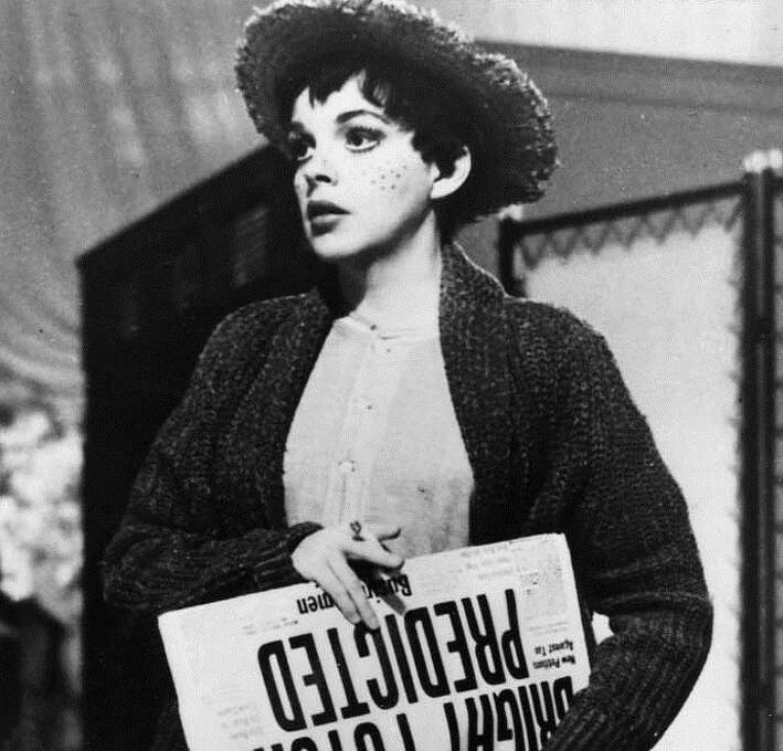 Judy Garland in A STAR IS BORN.  She should have won.