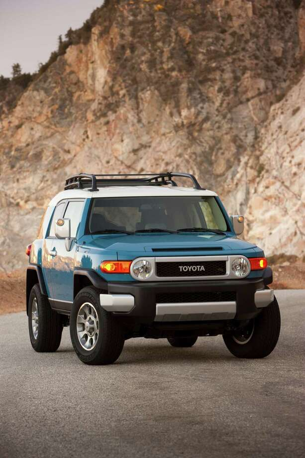 2. Toyota FJ Cruiser: The brand name and fuel economy of this small pickup gives it great resale value. The truck can resell for 49 percent of its cost after 60 months.