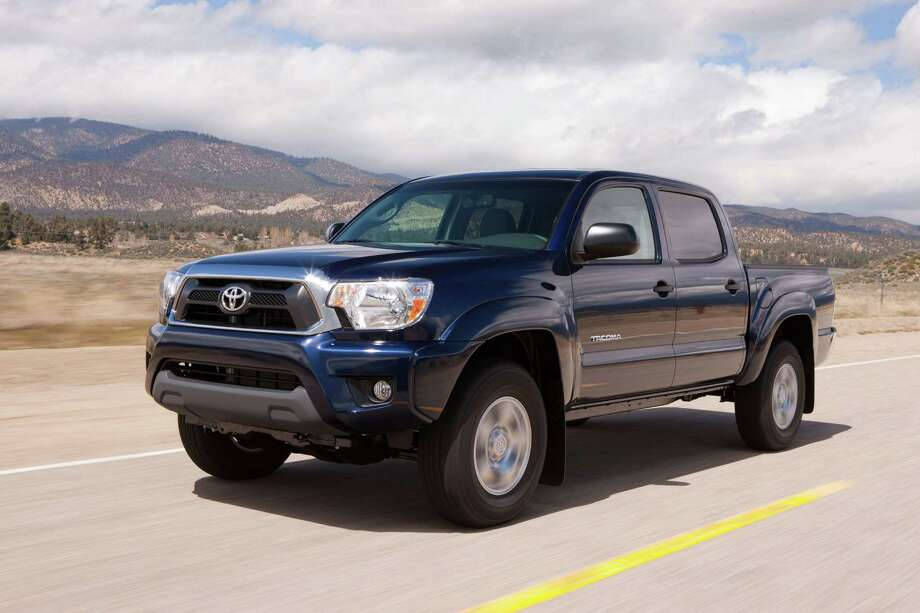 3. Toyota Tacoma: The brand name and fuel economy of this small pickup gives it great resale value. The truck can resell for 49 percent of its cost after 60 months.Source: Kelley Blue Book Photo: Toyota / Dewhurst Photography