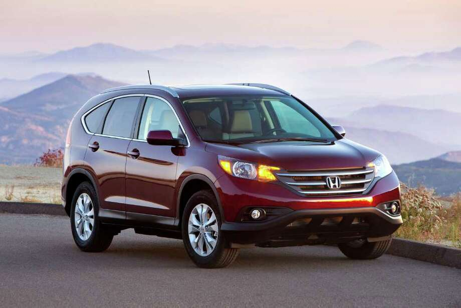 7. Honda CR-V: This refined SUV from Honda helps it hold its value over time. The car can resell for 43.5 percent of its original cost after 60 months.